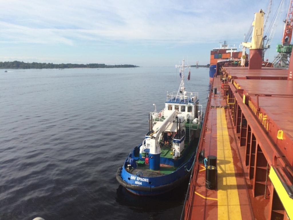 Kuģu apkalpošana