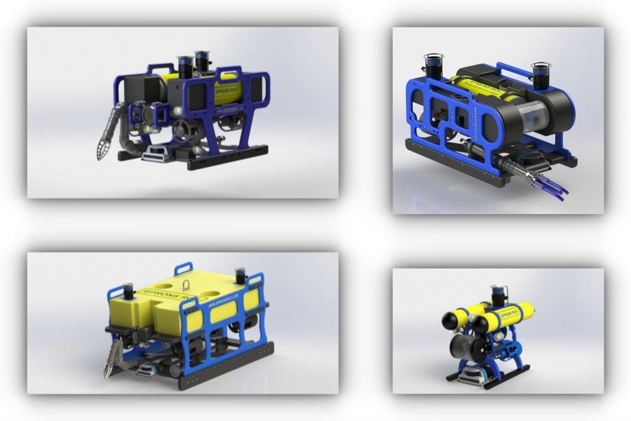 ROV Производство